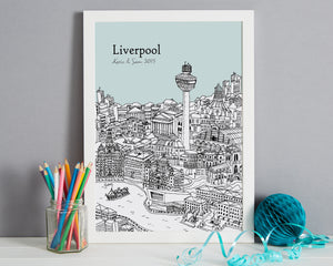 Personalised Liverpool Print-3