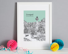 Load image into Gallery viewer, Personalised Liverpool Print-1