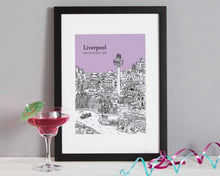Load image into Gallery viewer, Personalised Liverpool Print-6
