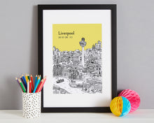 Load image into Gallery viewer, Personalised Liverpool Print-5