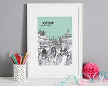 Load image into Gallery viewer, Personalised London Print-6