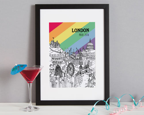 Personalised London Print-1