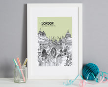 Load image into Gallery viewer, Personalised London Print-5