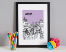 Load image into Gallery viewer, Personalised London Print-4