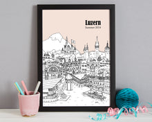 Load image into Gallery viewer, Personalised Luzern Print-6