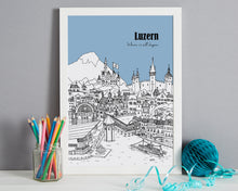 Load image into Gallery viewer, Personalised Luzern Print-4