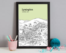 Load image into Gallery viewer, Personalised Lymington Print-7