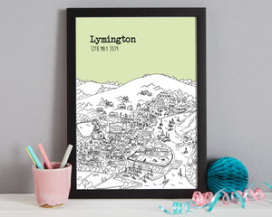 Personalised Lymington Print-7