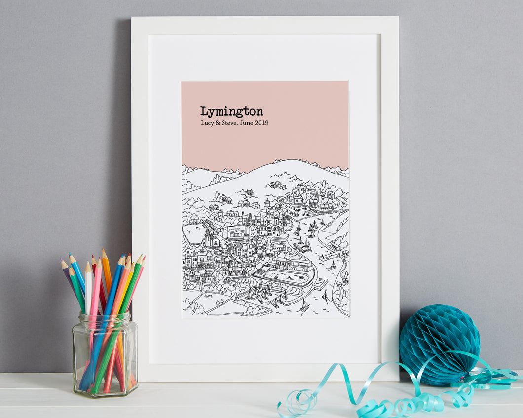 Personalised Lymington Print-1