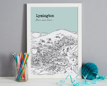 Load image into Gallery viewer, Personalised Lymington Print-4