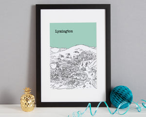 Personalised Lymington Print-3