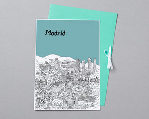Personalised Madrid Print-3