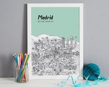 Load image into Gallery viewer, Personalised Madrid Print-5