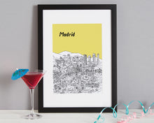 Load image into Gallery viewer, Personalised Madrid Print-4