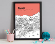 Load image into Gallery viewer, Personalised Malaga Print-3