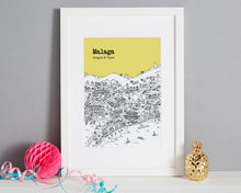 Load image into Gallery viewer, Personalised Malaga Print-1