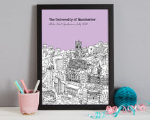 Load image into Gallery viewer, Personalised Manchester Graduation Gift