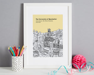 Personalised Manchester Graduation Gift