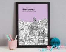Load image into Gallery viewer, Personalised Manchester Print-6