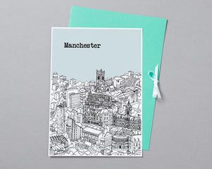 Personalised Manchester Print-4