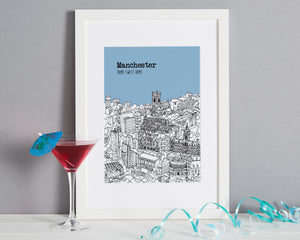 Personalised Manchester Print-1