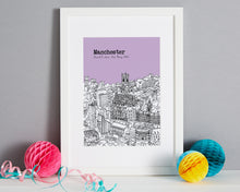 Load image into Gallery viewer, Personalised Manchester Print-3