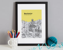 Load image into Gallery viewer, Personalised Manchester Print-5