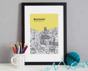 Personalised Manchester Print-5