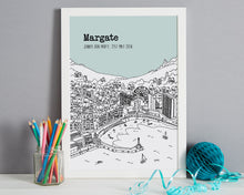 Load image into Gallery viewer, Personalised Margate Print-6