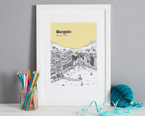 Personalised Margate Print-1