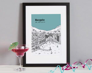 Personalised Margate Print-4