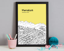 Load image into Gallery viewer, Personalised Marrakech Print-3