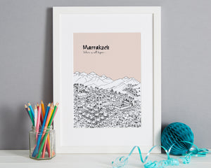 Personalised Marrakech Print-6