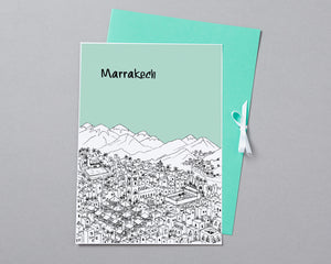 Personalised Marrakech Print-5