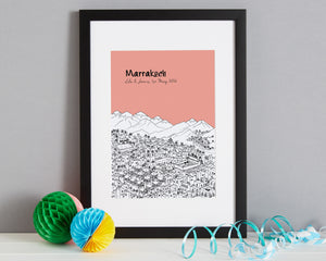 Personalised Marrakech Print-4