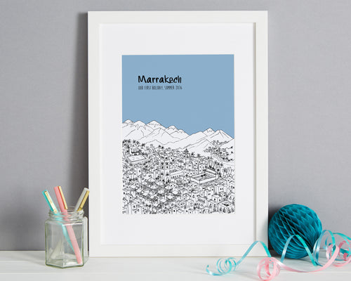 Personalised Marrakech Print-1