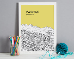 Personalised Marrakech Print-7