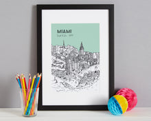 Load image into Gallery viewer, Personalised Miami Print-1