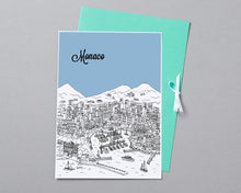 Load image into Gallery viewer, Personalised Monaco Print-5