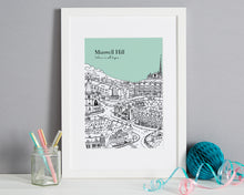 Load image into Gallery viewer, Personalised Muswell Hill Print-1