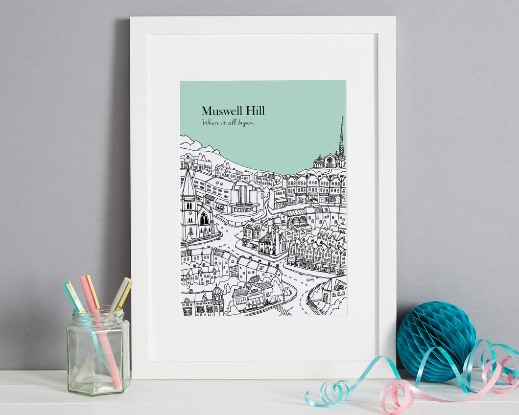 Personalised Muswell Hill Print-1