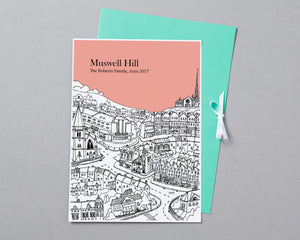 Personalised Muswell Hill Print-3