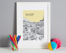 Load image into Gallery viewer, Personalised Muswell Hill Print-7