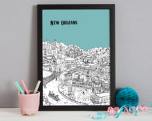 Load image into Gallery viewer, Personalised New Orleans Print-3