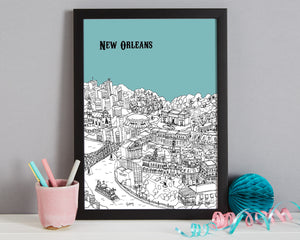 Personalised New Orleans Print-3