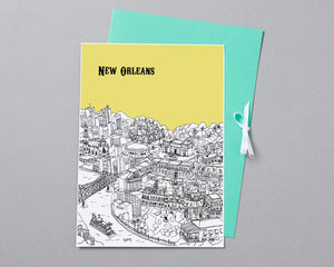 Personalised New Orleans Print-5