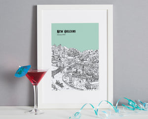 Personalised New Orleans Print-7