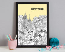 Load image into Gallery viewer, Personalised New York Print-4