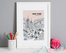 Load image into Gallery viewer, Personalised New York Print-8