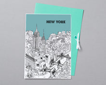 Load image into Gallery viewer, Personalised New York Print-6